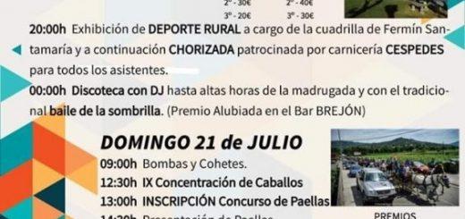 Fiestas de La Magdalena en Guriezo 2019
