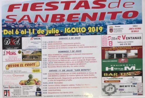 Fiestas de San Benito en Igollo 2019