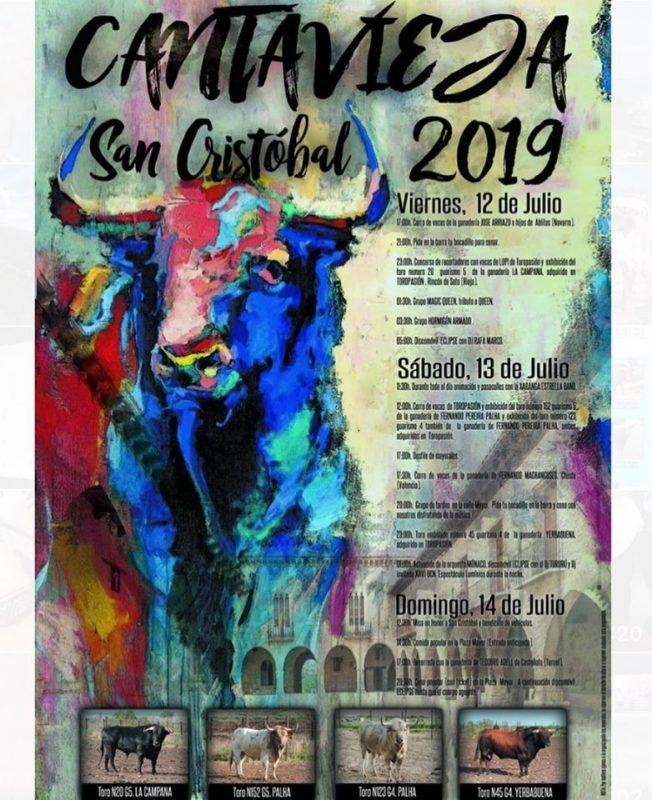 Fiestas de San Cristobal en Castañeda 2019