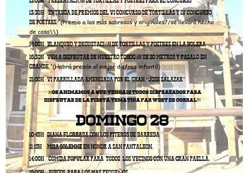 Fiestas de San Pantaleon en Cohicillos 2019