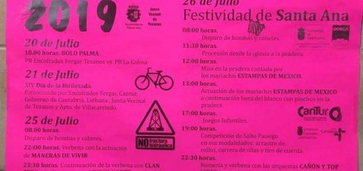 Fiestas de Santa Ana en Tezanos de Villacarriedo 2019