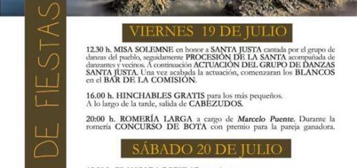 Fiestas de Santa Justa en Ubiarco 2019