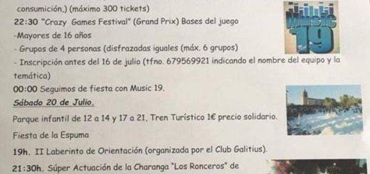 Fiestas del Carmen en Suesa 2019