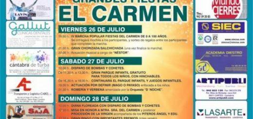 Fiestas del Carmen en Villapresente 2019