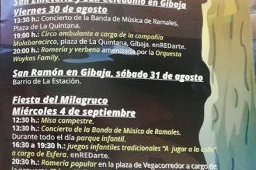Fiestas del Milagruco San Emeterio, San Celedonio y San Ramón en Ramales 2019