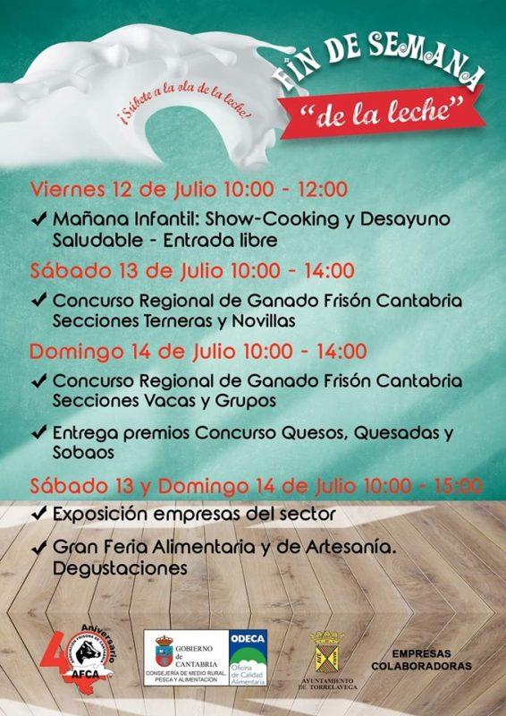 Fin de semana de la leche en Torrelavega