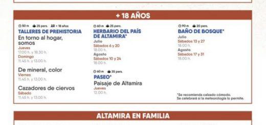 Actividades para todos en el Museo de Altamira