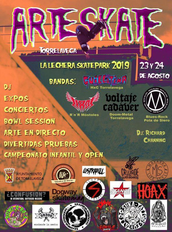 ArteSkate en Torrelavega