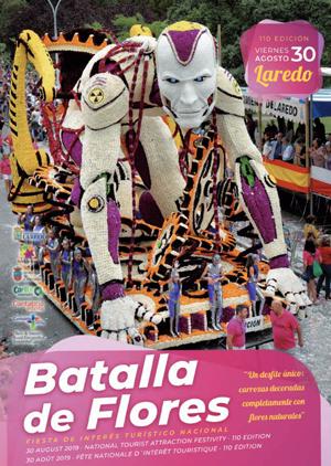 Batalla de flores en Laredo 2019, fiesta de interés turístico nacional