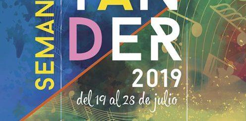 Cartel Semana Grande de Santander 2019