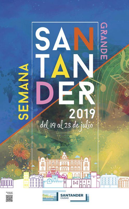 Semana Grande de Santander 2019. Programa de actividades