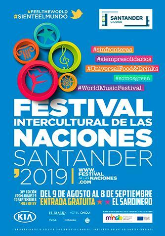 Feria de las Naciones Santander 2019, Festival intercultural