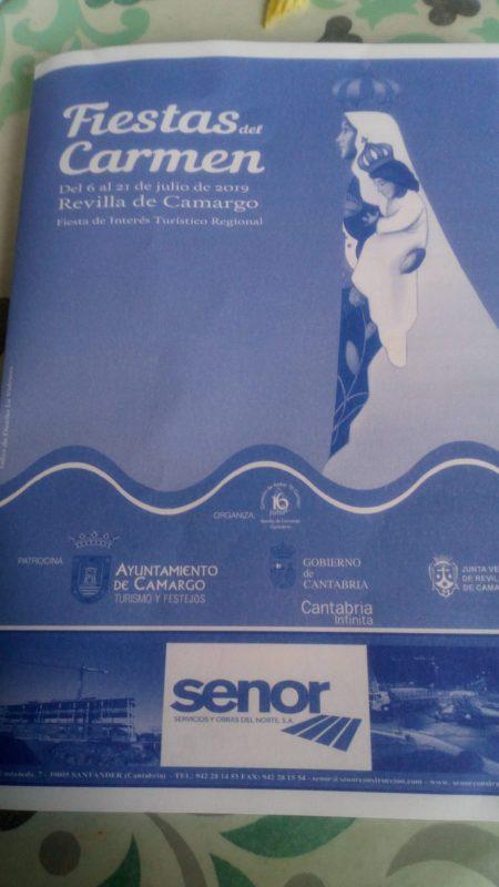 Fiestas del Carmen 2019 Revilla de Camargo
