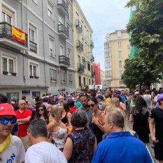 Ollas ferroviarias en la Semana Grande de Santander