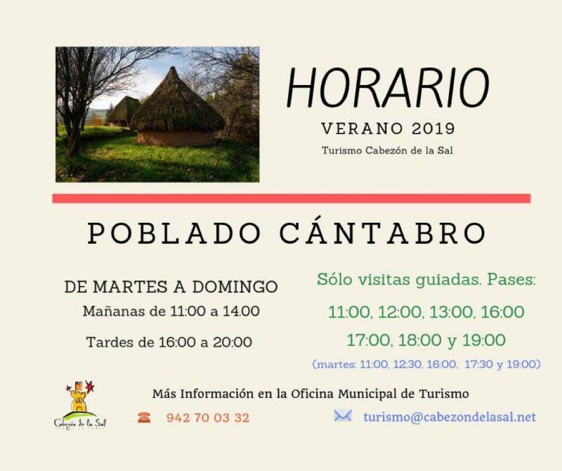 Visita al poblado Cántabro