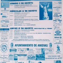 Fiestas de Nuestra Señora en Barriopalacio de Anievas 2019