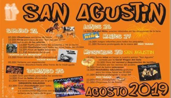 Fiestas de San Agustín en Santiurde de Toranzo 2019