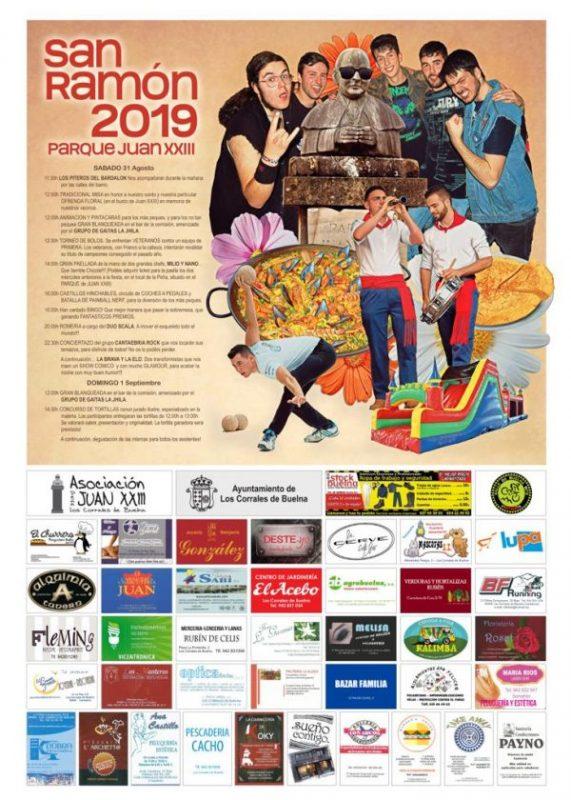 Fiestas de San Ramón en Los Corrales de Buelna 2019