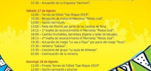 Fiestas de San Roque en Bezana 2019