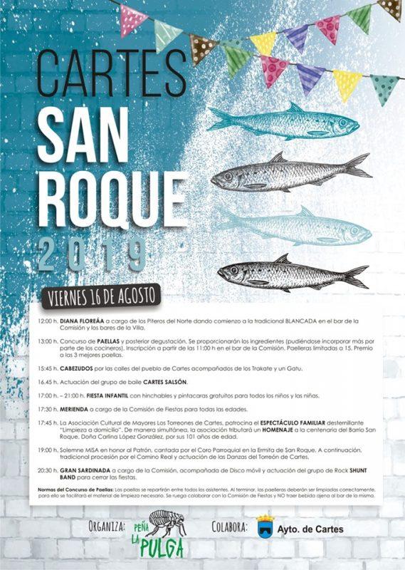 Fiestas de San Roque en Cartes 2019