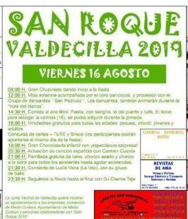 Fiestas de San Roque en Valdecilla 2019