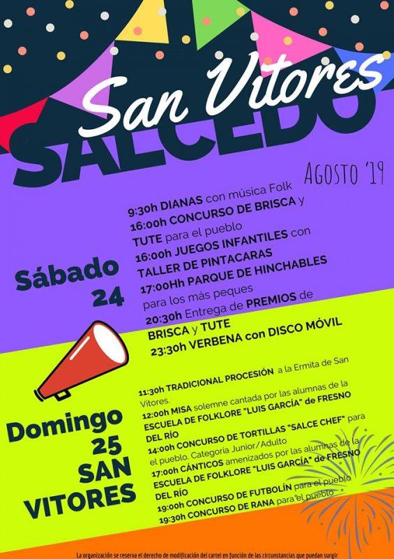 Fiestas de San Vitores en Saldedo de Valderredible 2019