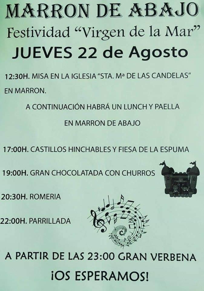 Fiestas de la Virgen del Mar en Ampuero 2019