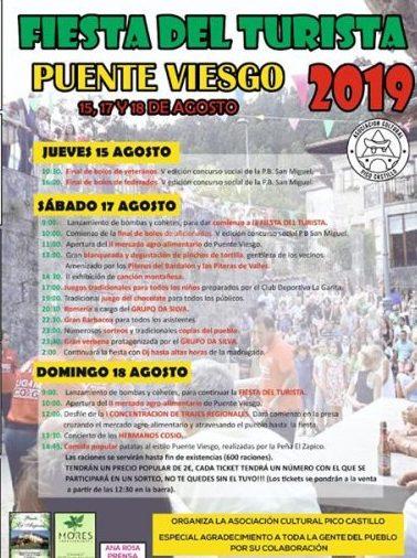 Fiestas del Turista en Puente Viesgo 2019