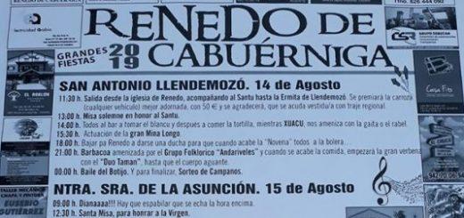 Fiestas en Renedo de Cabuérniga 2019