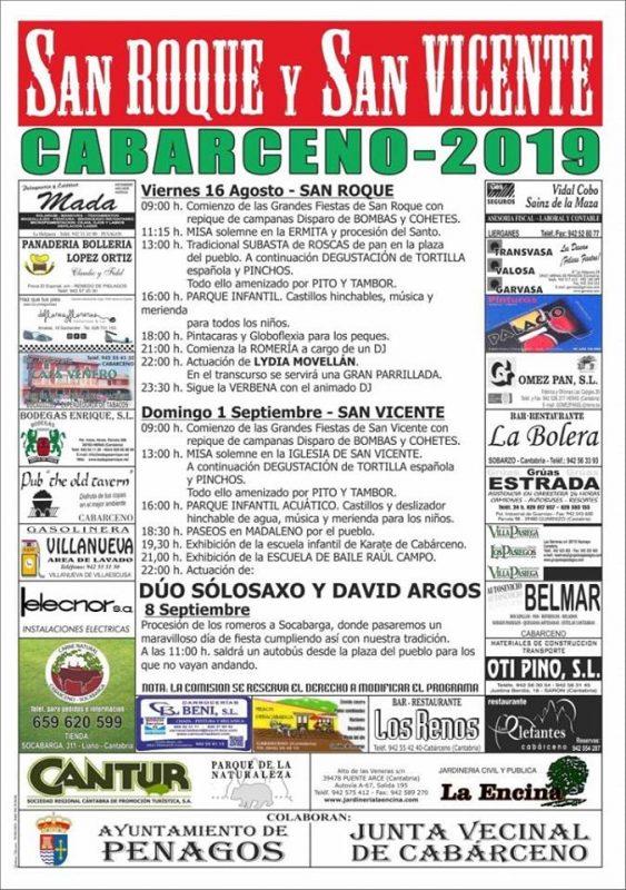 Fiests de San Vicente en Cabárceno 2019