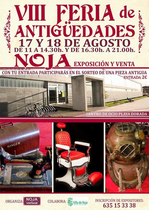 VIII Feria de Antigüedades de Noja