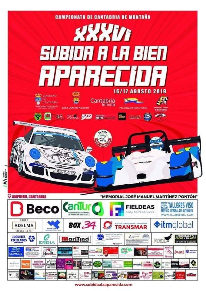 XXXVI Rally Subida a la Aparecida 2019