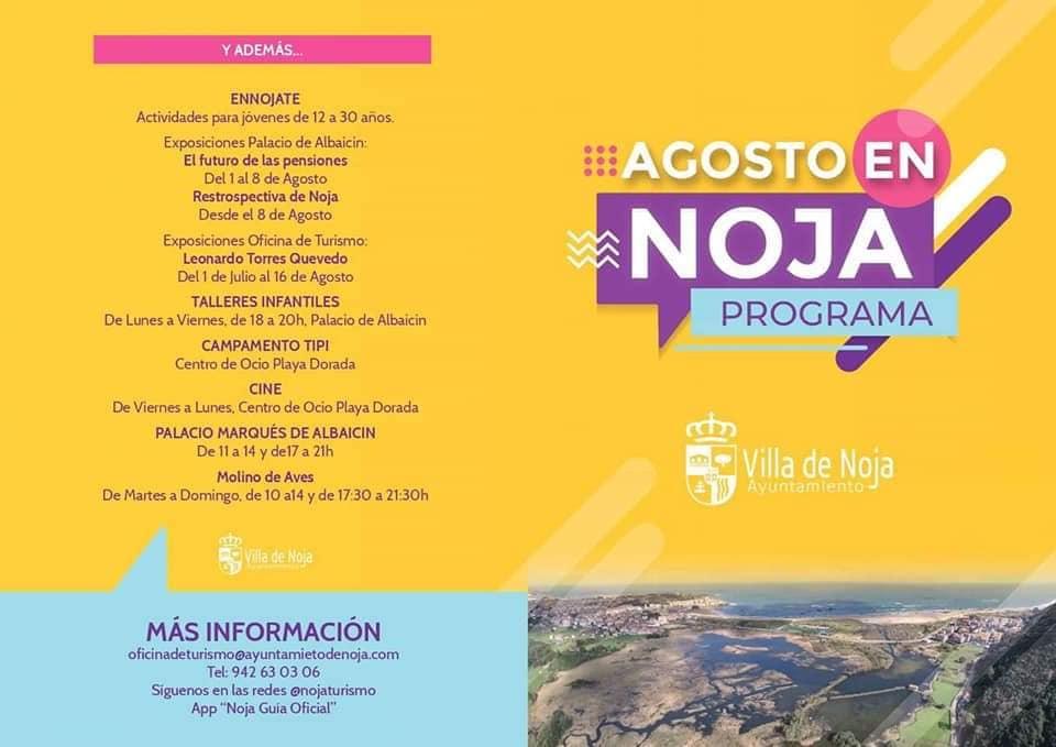 Actividades culturales en agosto 29019 en Noja