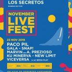 November Live Fest Santander 2019