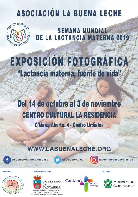 Exposición fotográfica «Lactancia materna, fuente de vida»
