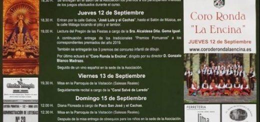 Fiestas de La Bien Aparecida en Porrua, Santander 2019