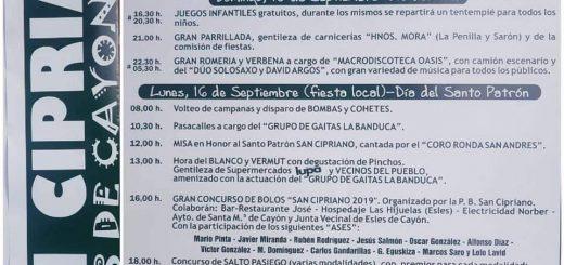 Fiestas de San Cipriano en Esles de Cayón 2019