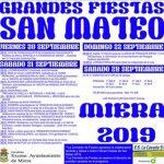 Fiestas de San Mateo en Miera 2019