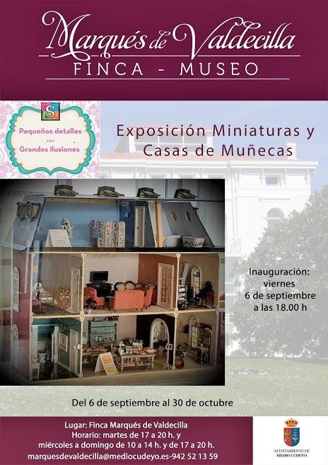 Exposición de casas de muñecas y miniaturas