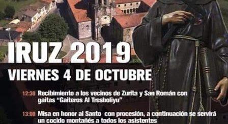 Fiestas de San Francisco 2019 en Iruz