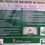 Fiestas de San Mateo 2019 en Maoño