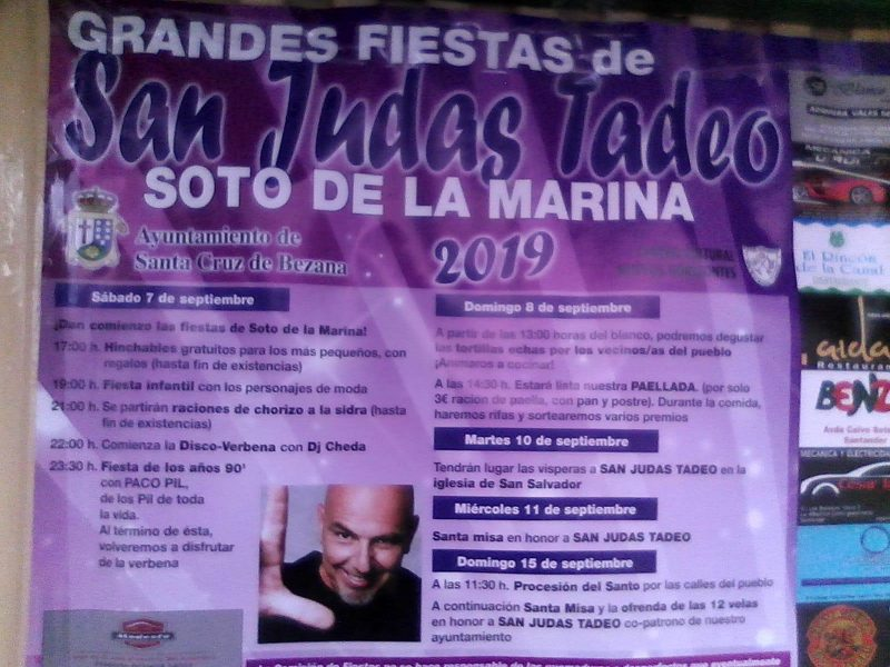 Fiestas San Judas Tadeo Soto de la Marina 2019