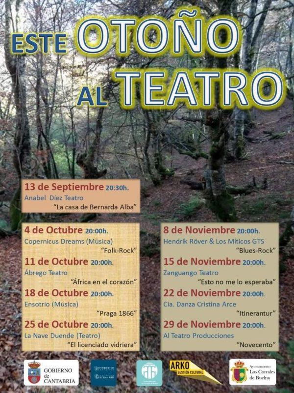 Otoño de teatro en Los Corrales de Buelna