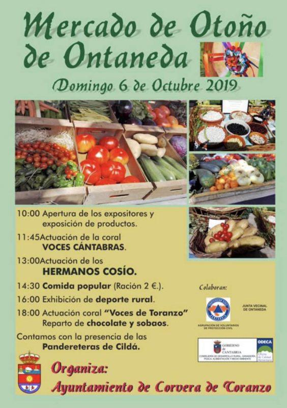 Mercado de otoño en Ontaneda