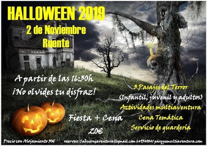 Actividades de Halloween 2019 en Ruente