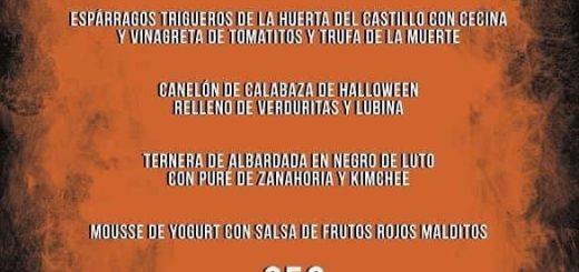 Fiesta de Halloween 2019 y cena en el Maremondo