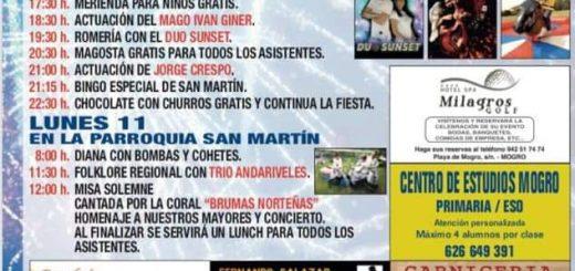 Fiestas de San Martín 2019 en Mogro