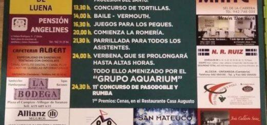 Fiestas de San Mateuco 2019 en Luena