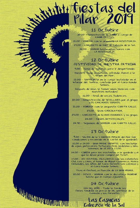 Fiestas del Pilar 2019 en Cabezón de la Sal