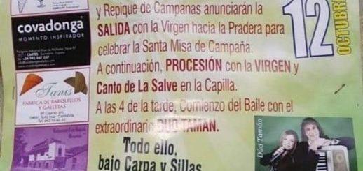 Fiestas del Pilar 2019 en Guzparras (Vega de Pas)